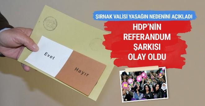 HDP referandum şarkısının sözleri olay oldu
