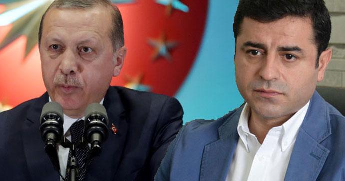 Erdoğan, Demirtaş'ın hakaret davasına 'müşteki'