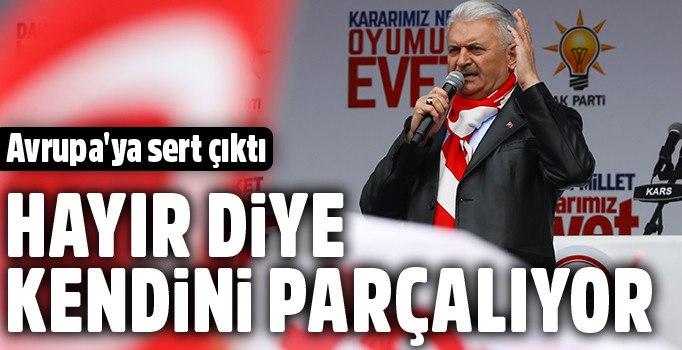 Yıldırım: Avrupa Türkiye'nin büyümesini istemiyor