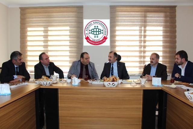 Yavilioğlu Erzurum'lu İş Adamları ile buluştu