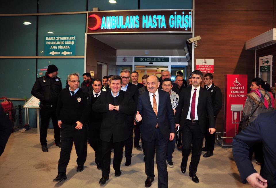 Tarıkdaroğlu'da sahaya indi