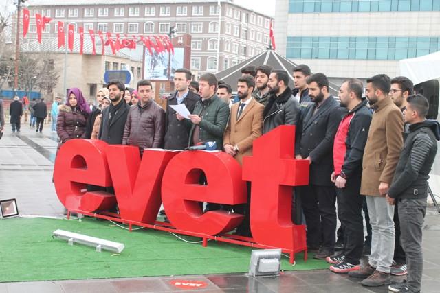 Erzurum Gençlik Platformu, referandum oyunu açıkladı