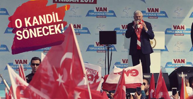 Başbakan Binali Yıldırım'dan Van'da çok önemli mesajlar