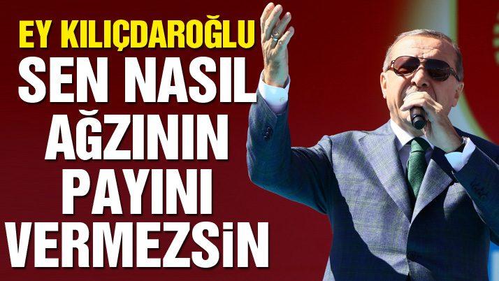 Erdoğan'dan Hüsnü Bozkurt tepkisi