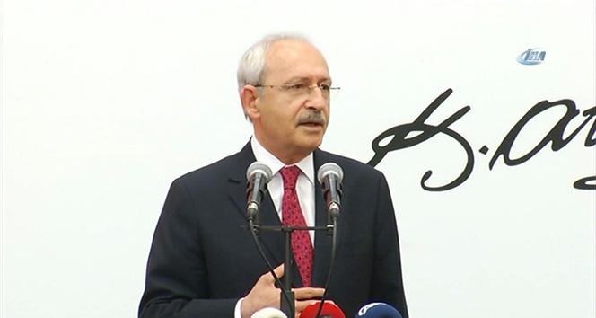 Kılıçdaroğlu avukatlar resepsiyonunda konuştu
