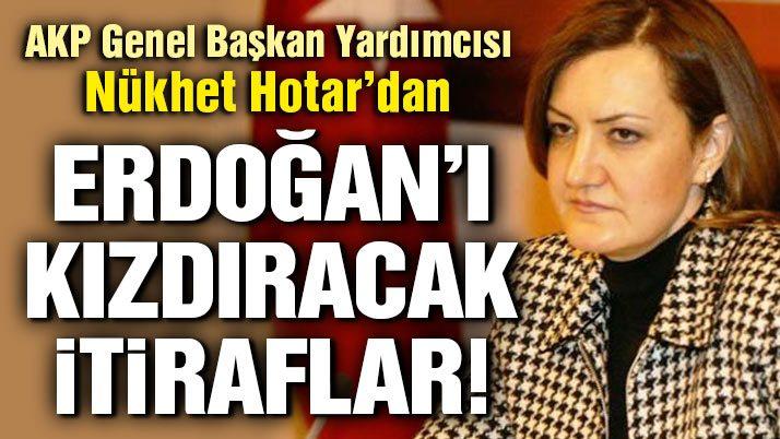 Erdoğan'ı kızdıracak itiraflar
