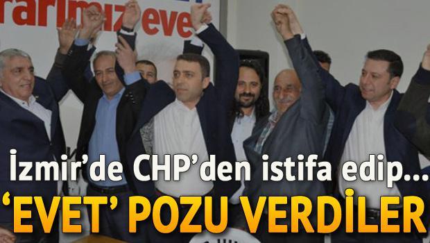 CHP'den istifa eden 105 kişi AK Parti'ye geçti