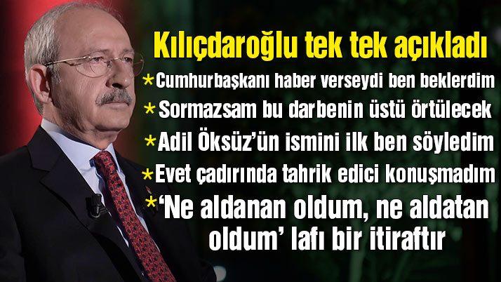 Kılıçdaroğlu'ndan önemli açıklamalar