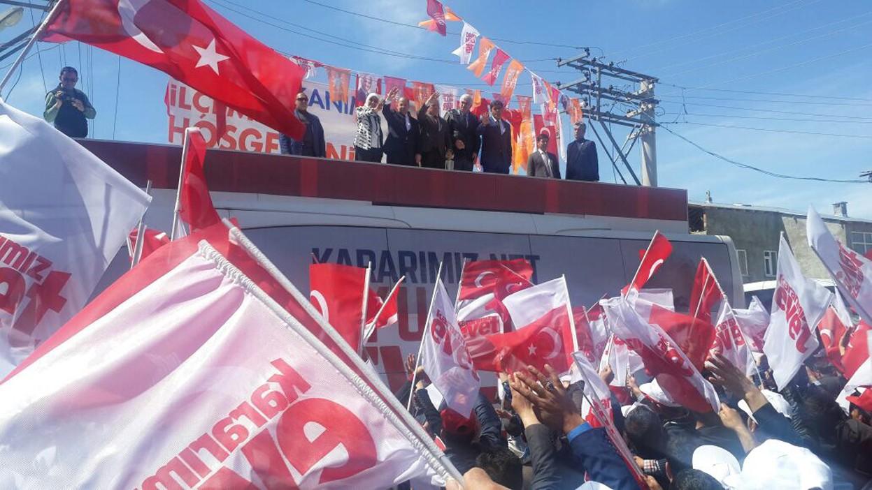 Sağlık Bakanı Recep Akdağ Karaçoban'da
