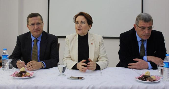 Akşener: MHP'nin yüzde 80'i hayır diyecek