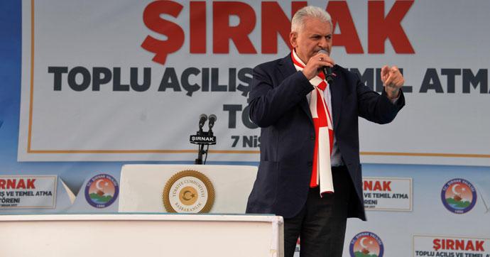 Başbakan Yıldırım: PKK bitecek, Türkiye rahat nefes alacak