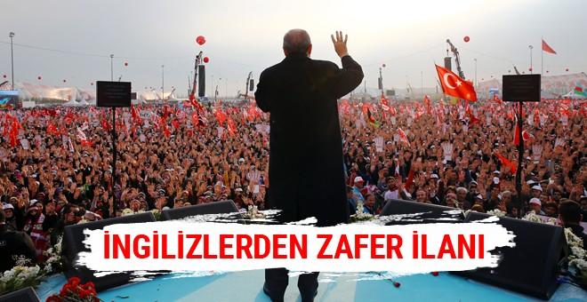 İngilizler Erdoğan'ın zaferini erkenden ilan etti