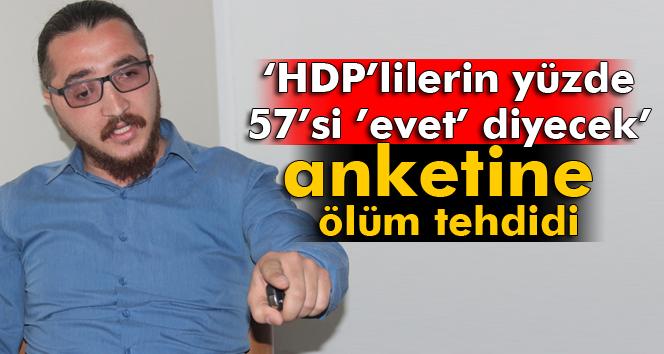 HDP'lilerin yüzde 57'si 'evet' diyecek
