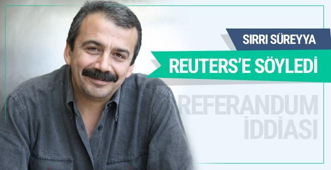 Sırrı Süreyya Önder'in referandum sonuçları iddiası