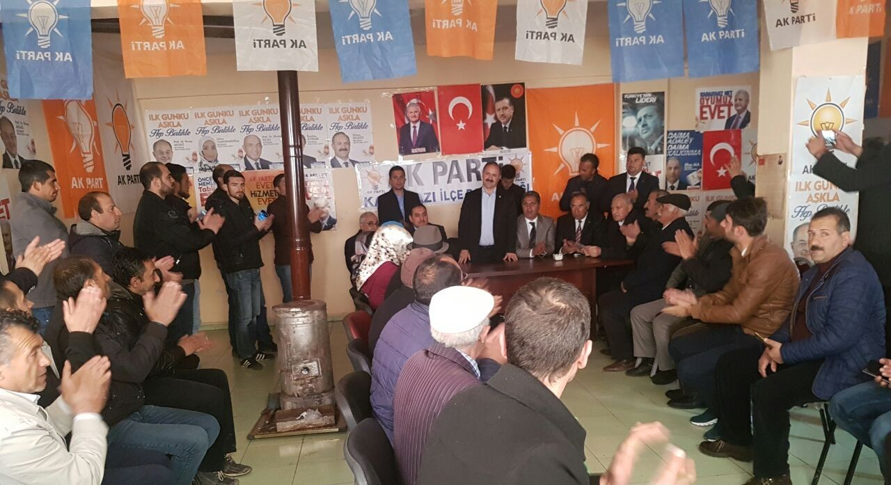 AK Partili Deligöz sahada