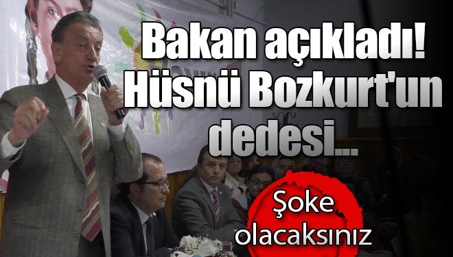 Bakan açıkladı! Hüsnü Bozkurt'un dedesi...