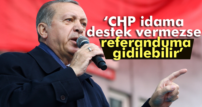 CHP idama destek vermezse referanduma gidilebilir
