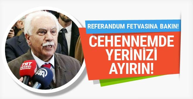 Perinçek'in Referandum fetvası
