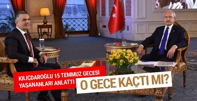 Kılıçdaroğlu kaçtı iddiasına cevap verdi