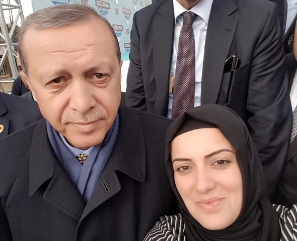Ebru Canpolat'tan Erdoğan'a destek