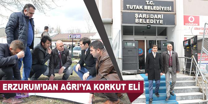 Yakutiye, Tutak ile işbirliğinde Erzurum'dan ağrıya kardeş eli