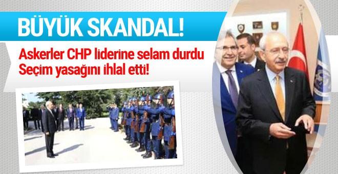 CHP lideri Kılıçdaroğlu seçim yasağını ihlal etti