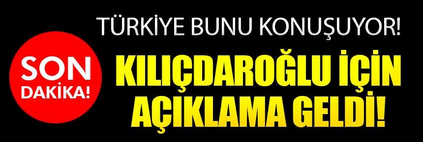 TSK'dan Kılıçdaroğlu açıklaması