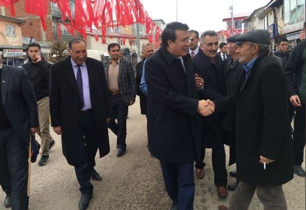 Milletvekili Aydemir Karayazı'nın konuğuydu