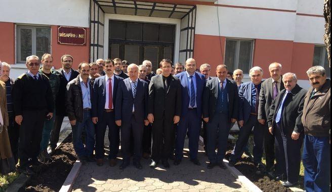 Aydemir Şeker Fabrikası çalışanlarıyla buluştu