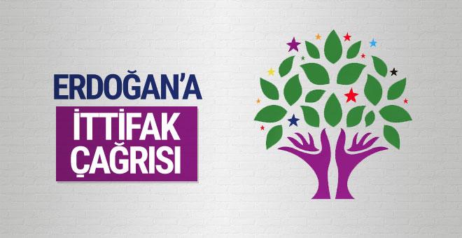 HDP'li Altan Tan'dan Erdoğan'a ittifak çağrısı