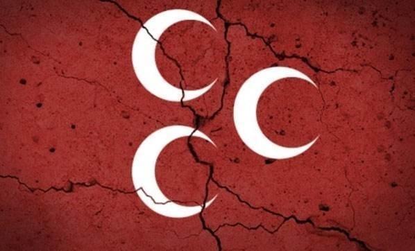 MHP Hassa ilçe yönetimi istifa etti