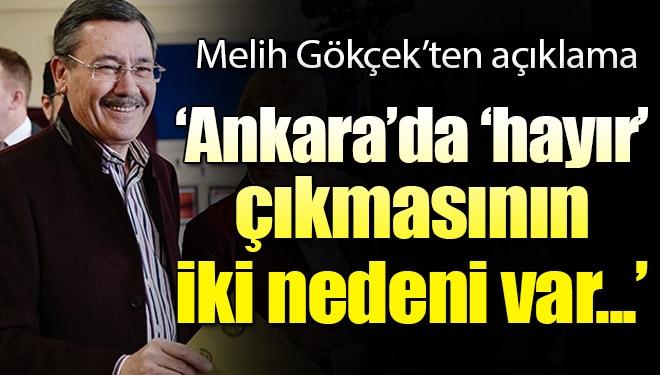 Ankara'da 'hayır'ın yüksek çıkmasının iki nedeni var