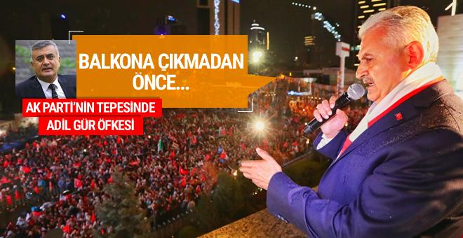 AK Parti'de Adil Gür öfkesi referandum gecesi neler yaşandı