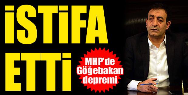 Talat Göğebakan MHP'den istifa etti