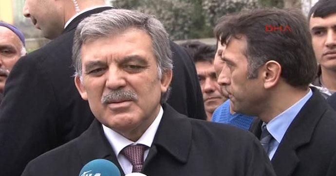 Abdullah Gül'ün Ofisi'den görüşme iddiasına yalanlama