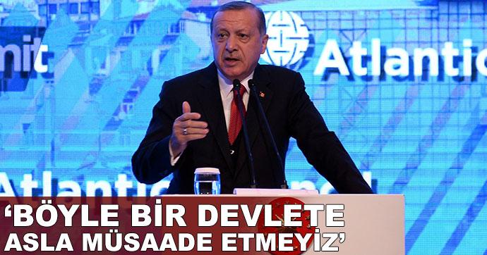 Erdoğan, Atlantik Konseyi Zirvesi'ne katıldı