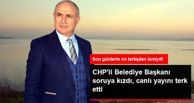 """CHP'li Belediye Başkanı """"Albatros"""" Sorusuna Kızdı"""