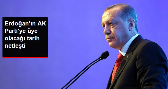 2 Mayıs'ta AK Parti'ye Üye Olacak