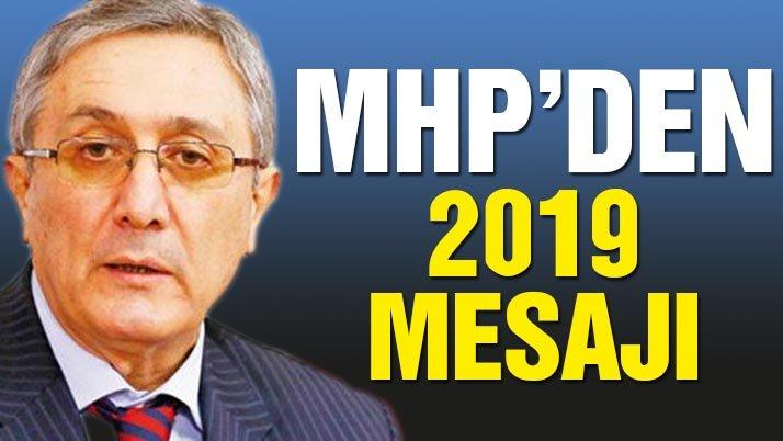 MHP'li Ayhan'dan 2019 yılında yapılacak olan Cumhurbaşkanlığı mesajı!