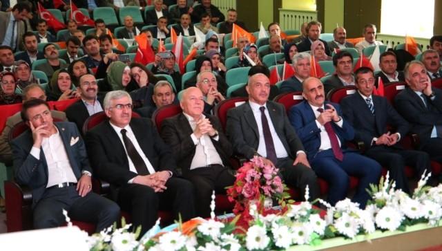 Ak Partililer Erzurum'da toplandı...