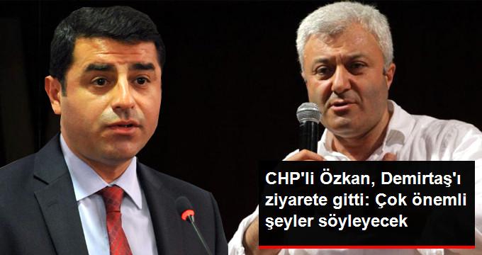 Özkan, Demirtaş'ı Cezaevinde Ziyaret Etti