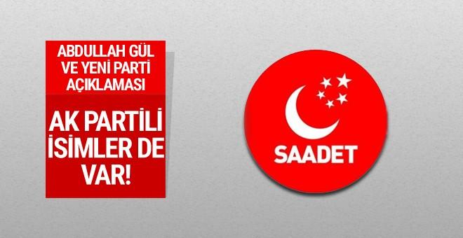 Abdullah Gül ve yeni parti açıklaması
