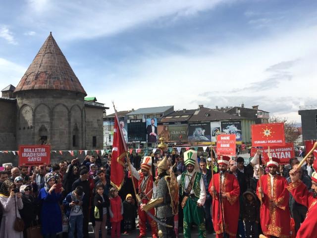 Osmanlı Ocaklarının 'Milli İrade Mitingi'nde Fetö'ye Tepki