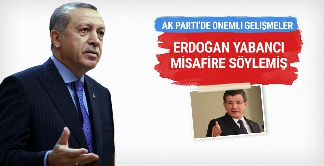 Erdoğan: Ahmet Hoca'yla yapamadık işte