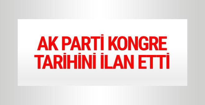 AK Parti'den son dakika kongre kararı