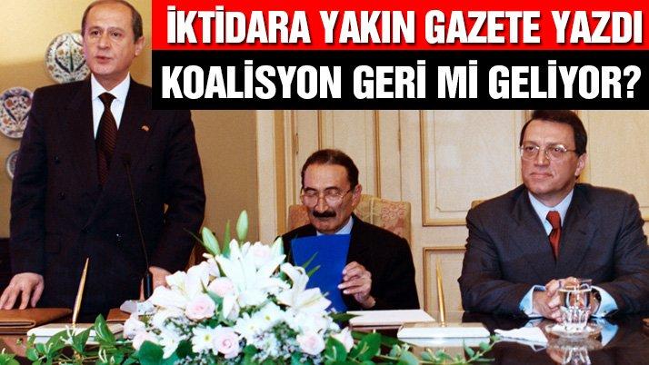 AK Partide koalisyon düzenlemesi mi yapıyor