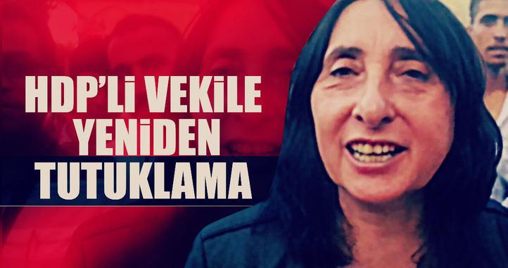 Nursel Aydoğan'ın yeniden tutuklandtı