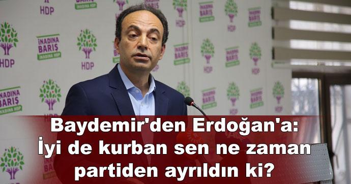 Baydemir'den Erdoğan'a