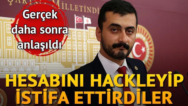 CHP'li Eren Erdem'i istifa ettirdiler!