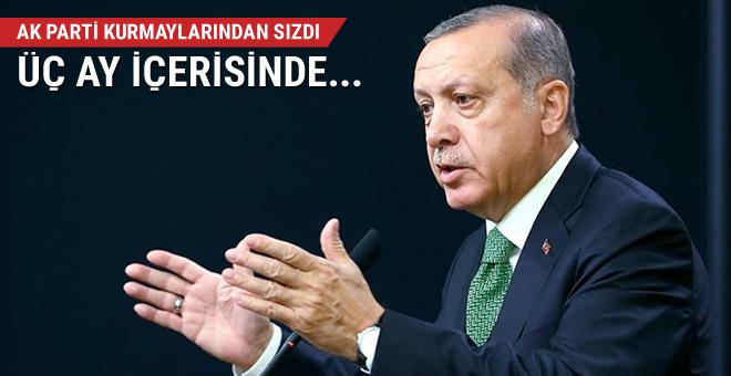 AK Parti kurmaylarından sızdı üç ay içerisinde...